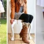 Зимние сапоги. С чем модно носить и как