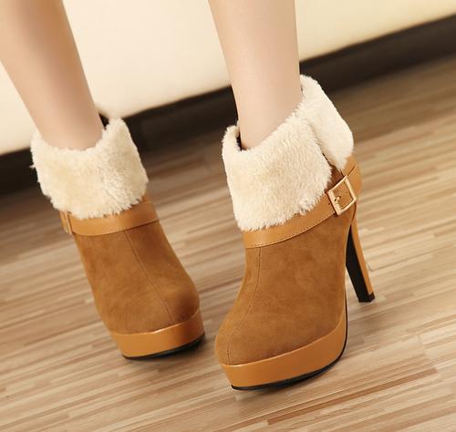 Ботинки с мехом, под что носить