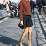 6 способов носить высокие сапоги этой осенью