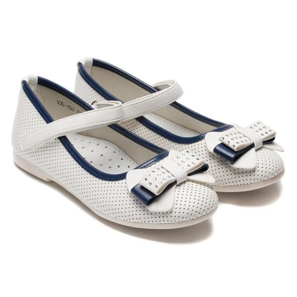 Белые туфли для девочек