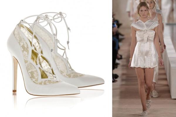 Белые платья и нарядные луки