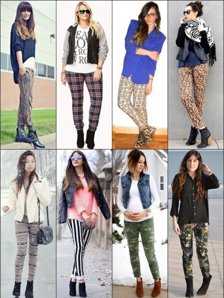 Ankle-Boots-with-Printed-Pants