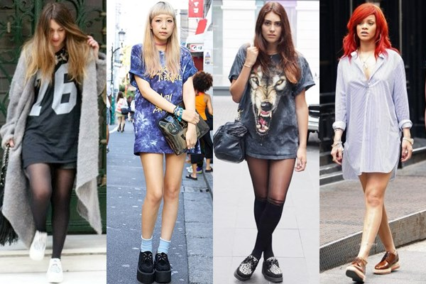 Creeper-Shoes-with-Shirt-Dress-Tunic