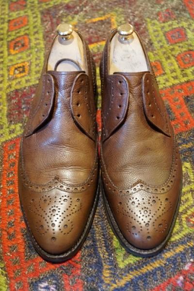 Ботинки после полировки