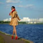 Цветные туфли для женщин
