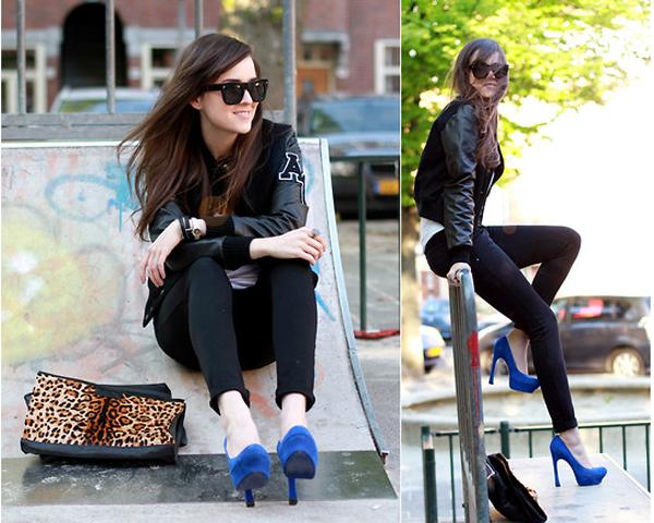С чем носить замшевые туфли