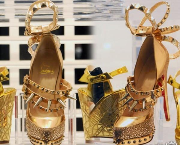 Золотіе туфли на страницах журнала
