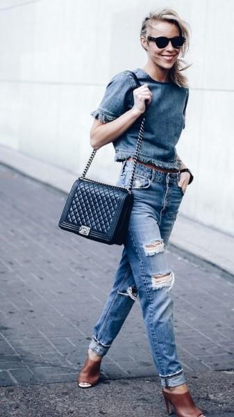 Мюли под джинсы