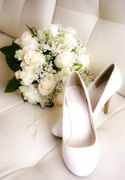 Белые туфли на свадьбу