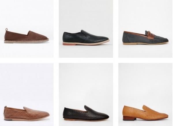 Тканная летняя обувь