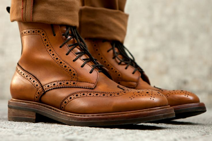 The Brown Leather Brogue
