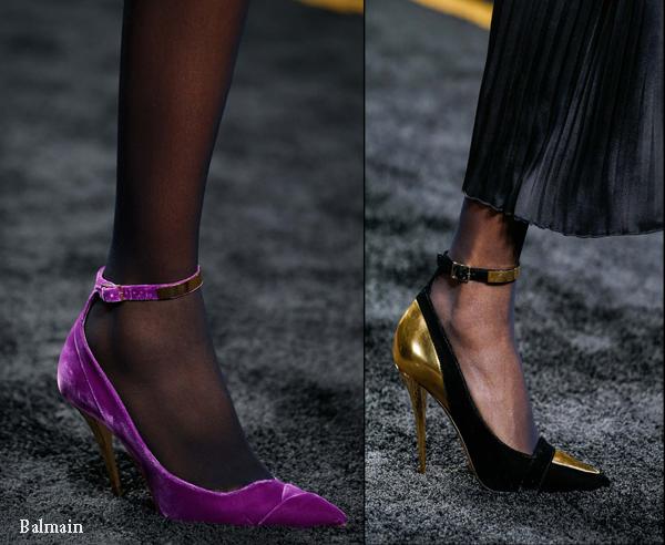 Оригинальные остроносые туфли