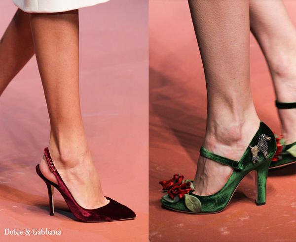 Туфли с острыми носами