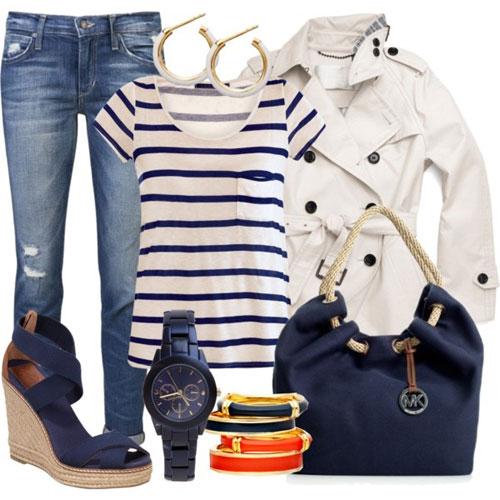 Одежда в морском стиле