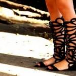 Как правильно носить гладиаторские сандалии