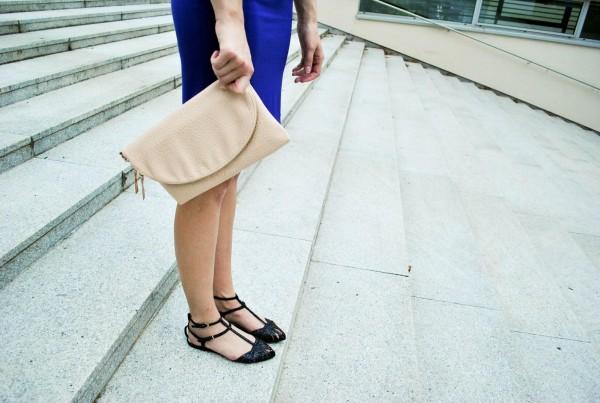 Сочетание цветов в одежде и обуви