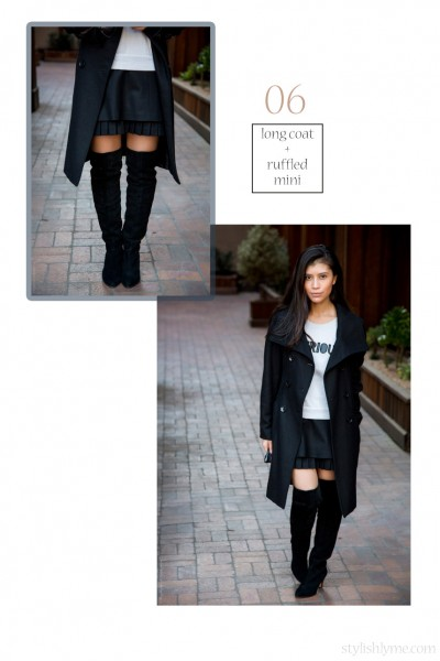 how-to-wear-a-skirt-and-thigh-high-boots-fall-outfit
