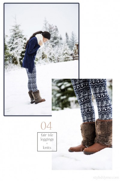 how-to-wear-fair-isle-leggings-winter-outfit