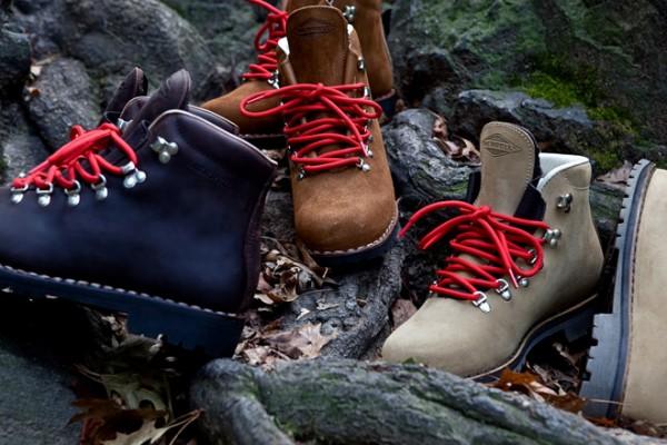 Кожаные сапоги для занятий альпинизмом