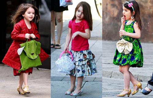 Туфли на каблуках для детей