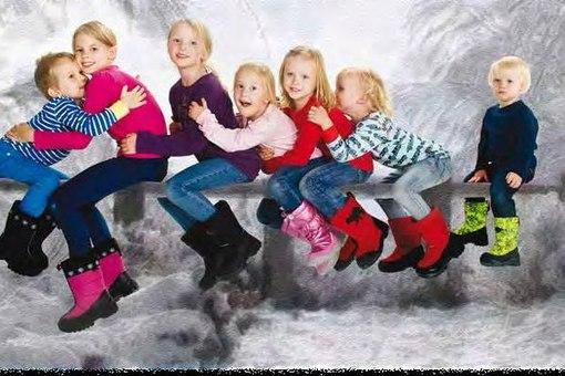 Детские финские валенки