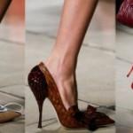 История женских туфель