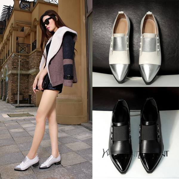 New-spring-women-genuine-leather-mocassins-rivets-oxfords-flats-boat-girl-shoes-designer-hot-sale-woman